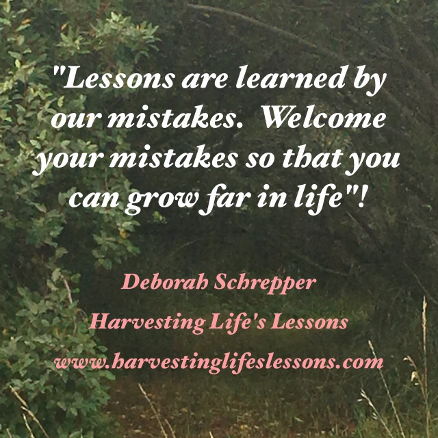 Harvesting Life's Lessons